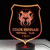 stade rennais football club lampe supporter