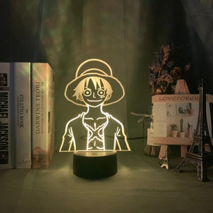 lampe luffy one piece manga