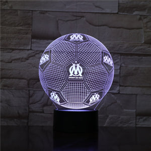lampe droit au but olympique marseille