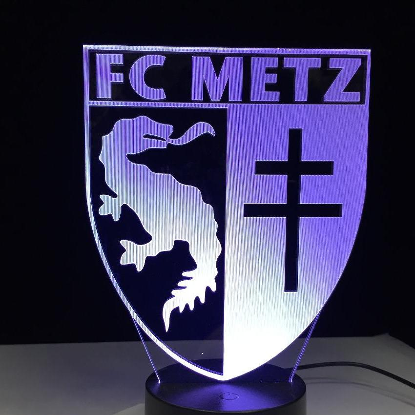 Lampe FC Metz leader de ligue 2 de football
