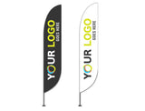 14' Custom full color Flag Kit