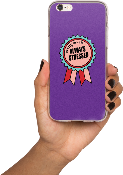 Always Stressed, iPhone cases