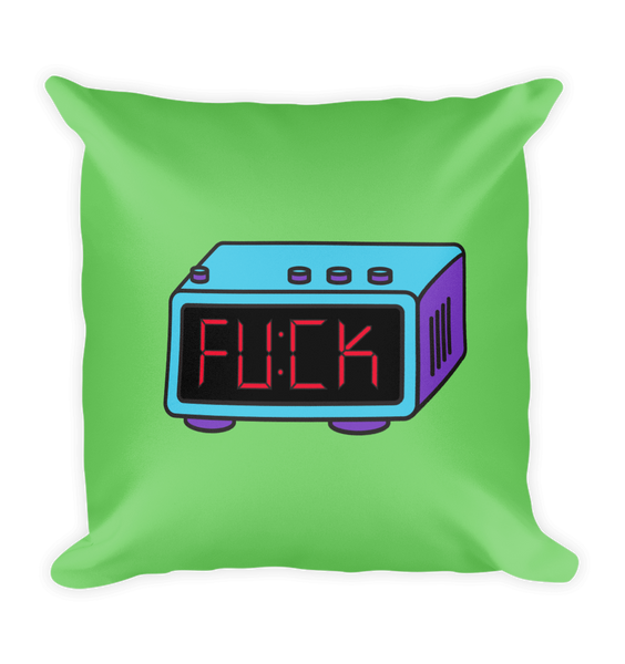 Fuck Square Pillow