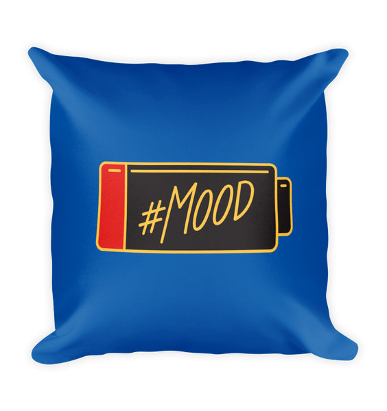 Mood Square Pillow