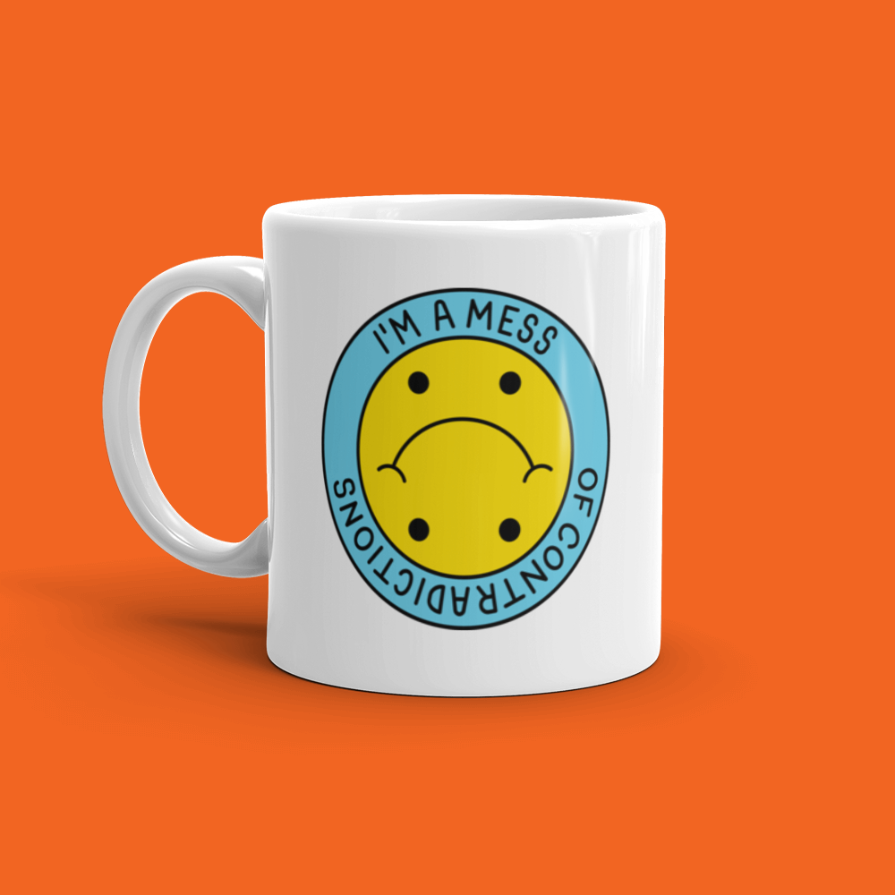 Mess of Contradictions Mug