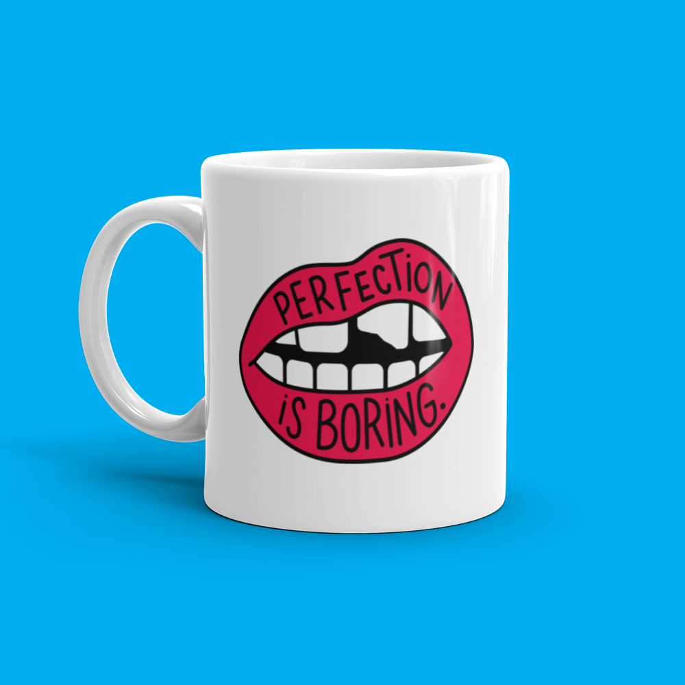 Perfection is Boring Mug