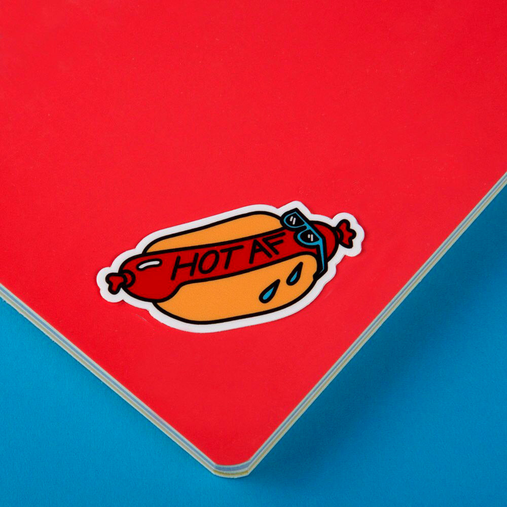 Hot AF Sticker