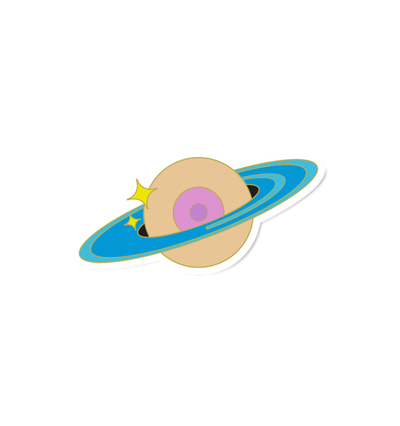 Space Boob Sticker