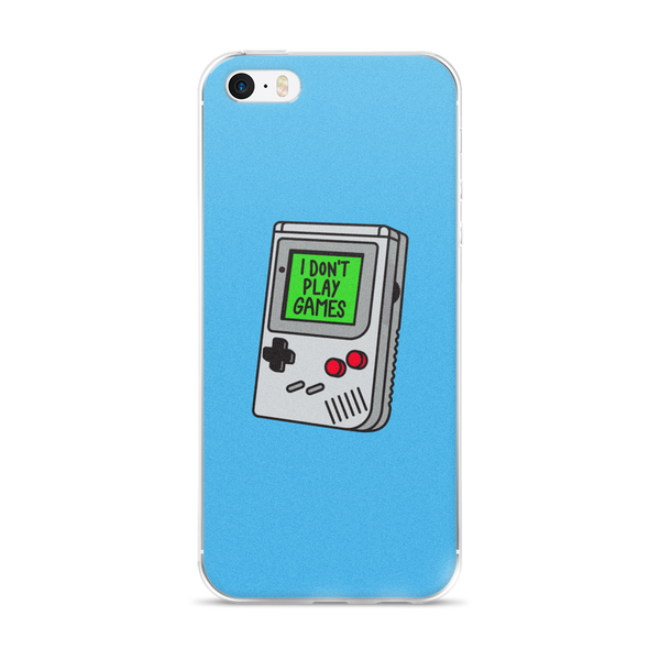 I Don't Play Games, iPhone cases