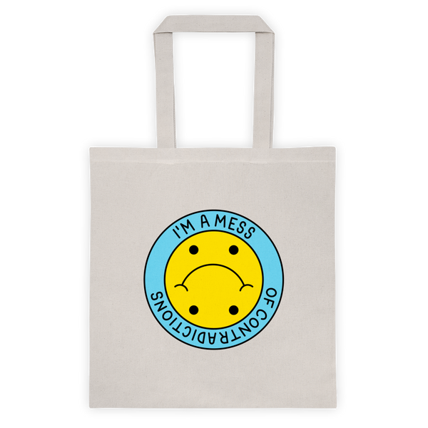 A Mess of  Contradictions, Tote Bag
