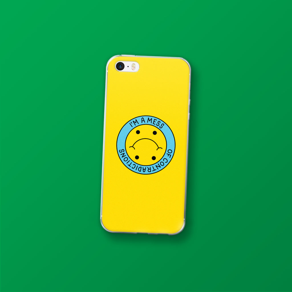 Mess of Contradictions, iPhone cases