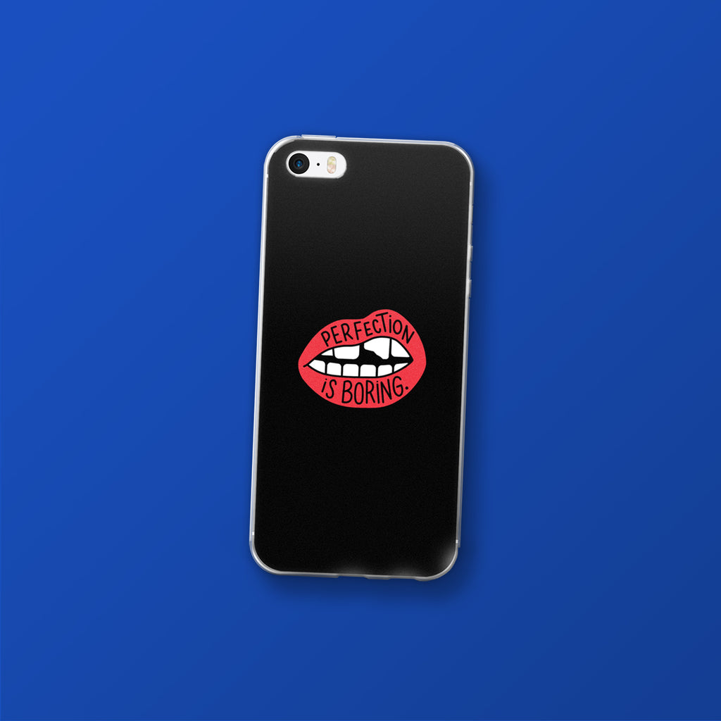 Perfection is Boring, iPhone cases