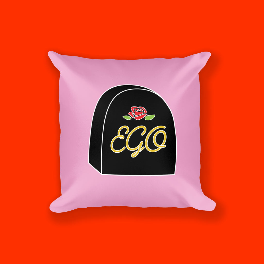 Ego Square Pillow