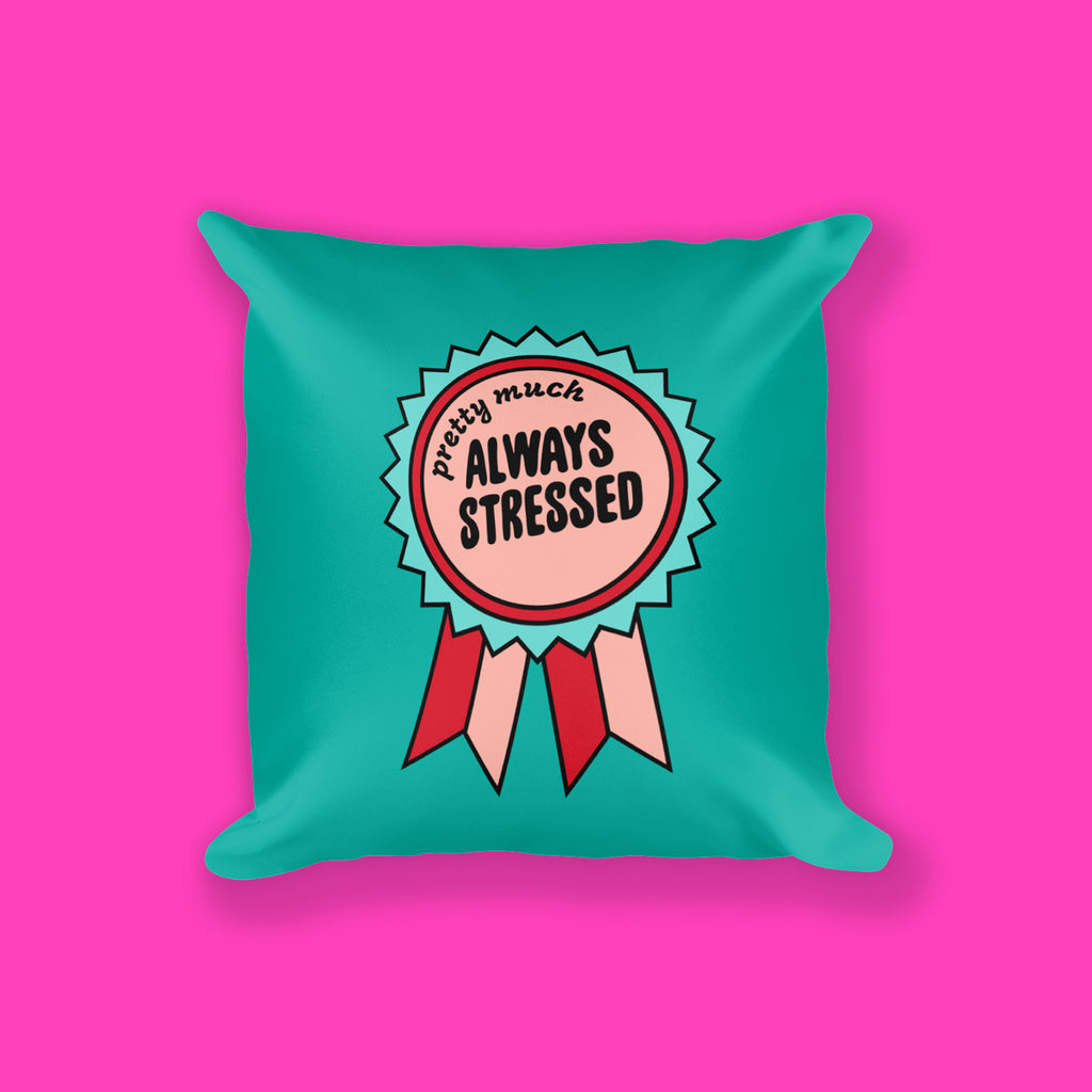 Stressed Square Pillow