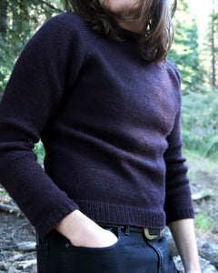 Worsted Pullover No. 1 - Adult Sizes
