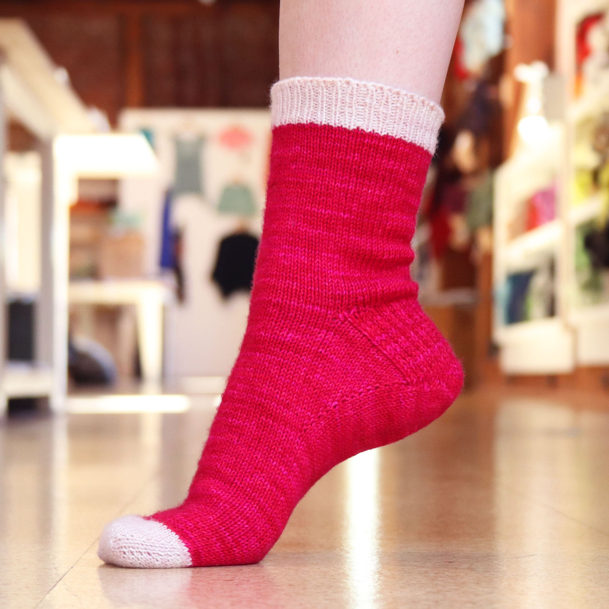 Classic Toe Up Socks - Adult Sizes