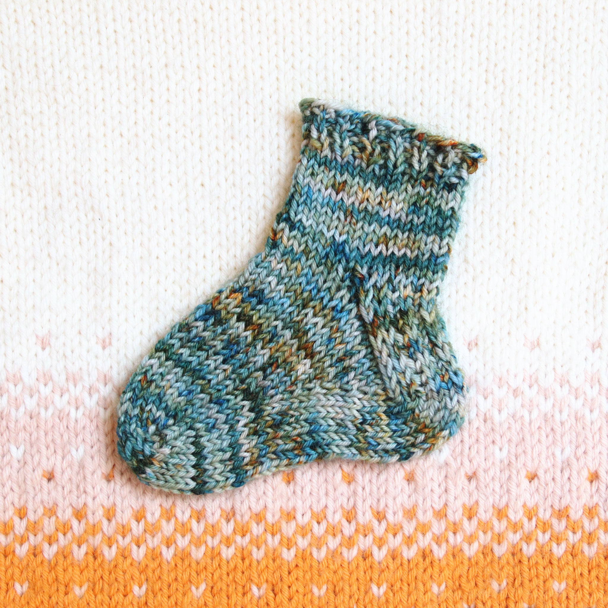 Classic Toe Up Socks - Baby & Child Sizes