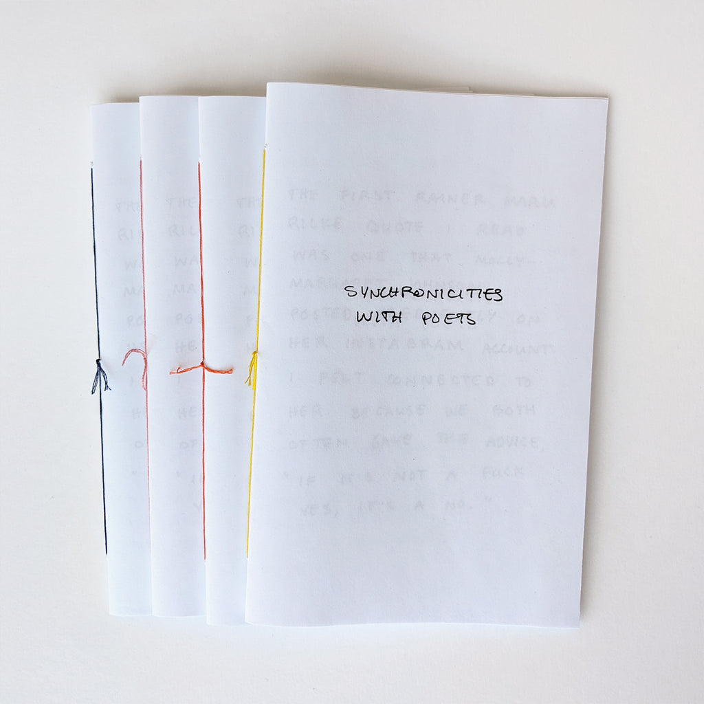 """Synchronicities with Poets"" Zine"