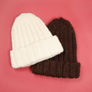 Bulky 2 x 2 Ribbed Hat