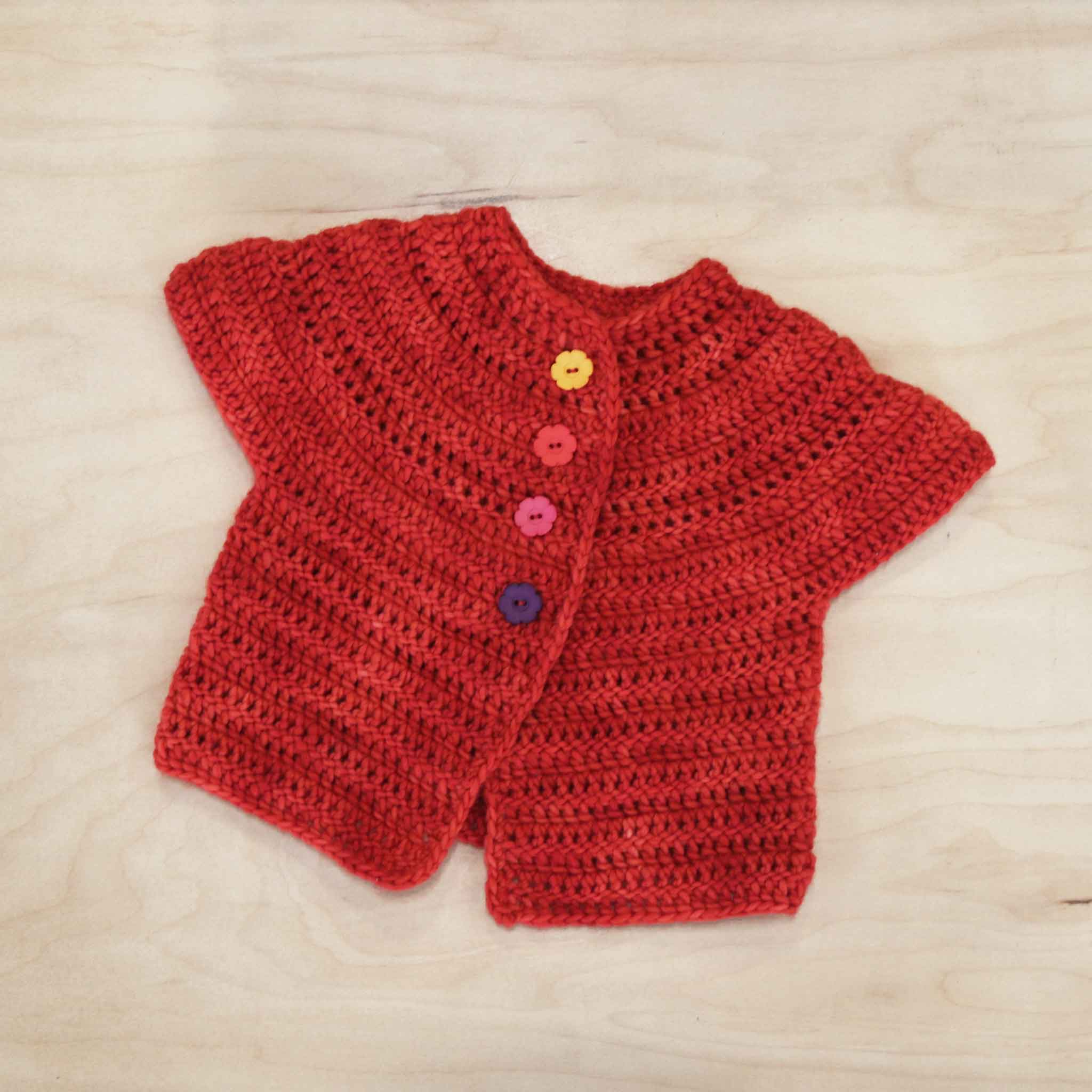 Crochet Baby Cardigan No. 1