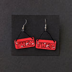 They/Them Pronoun Earrings