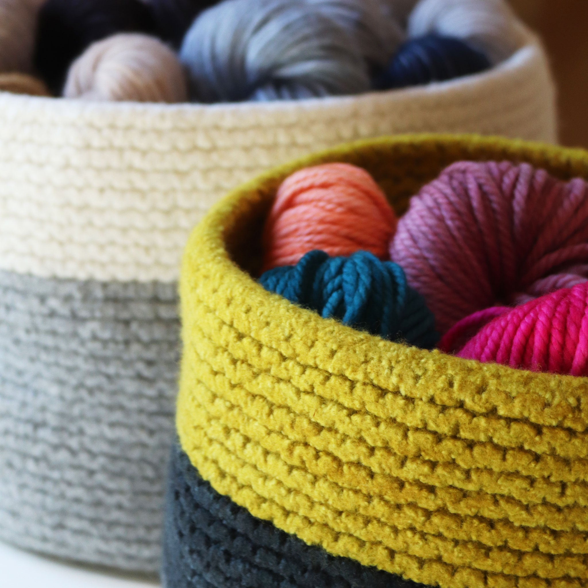 Felted Basket No. 1