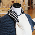 Garter Stripe Scarf No. 1