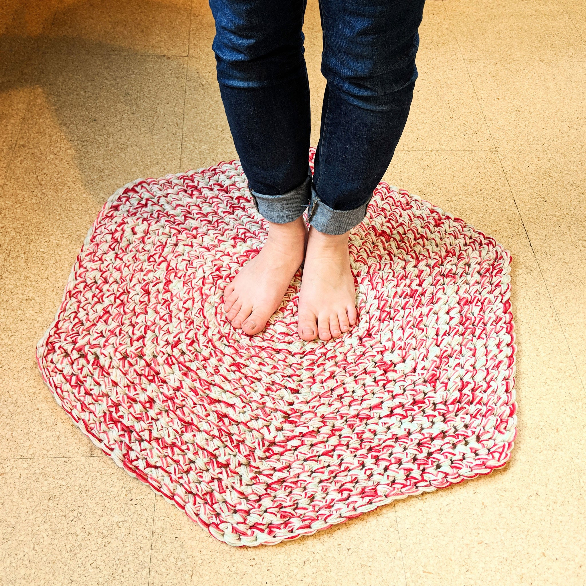 Hexagonal Rug