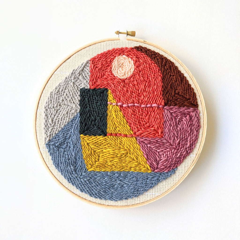 Punch Needle Wall Hanging No. 3