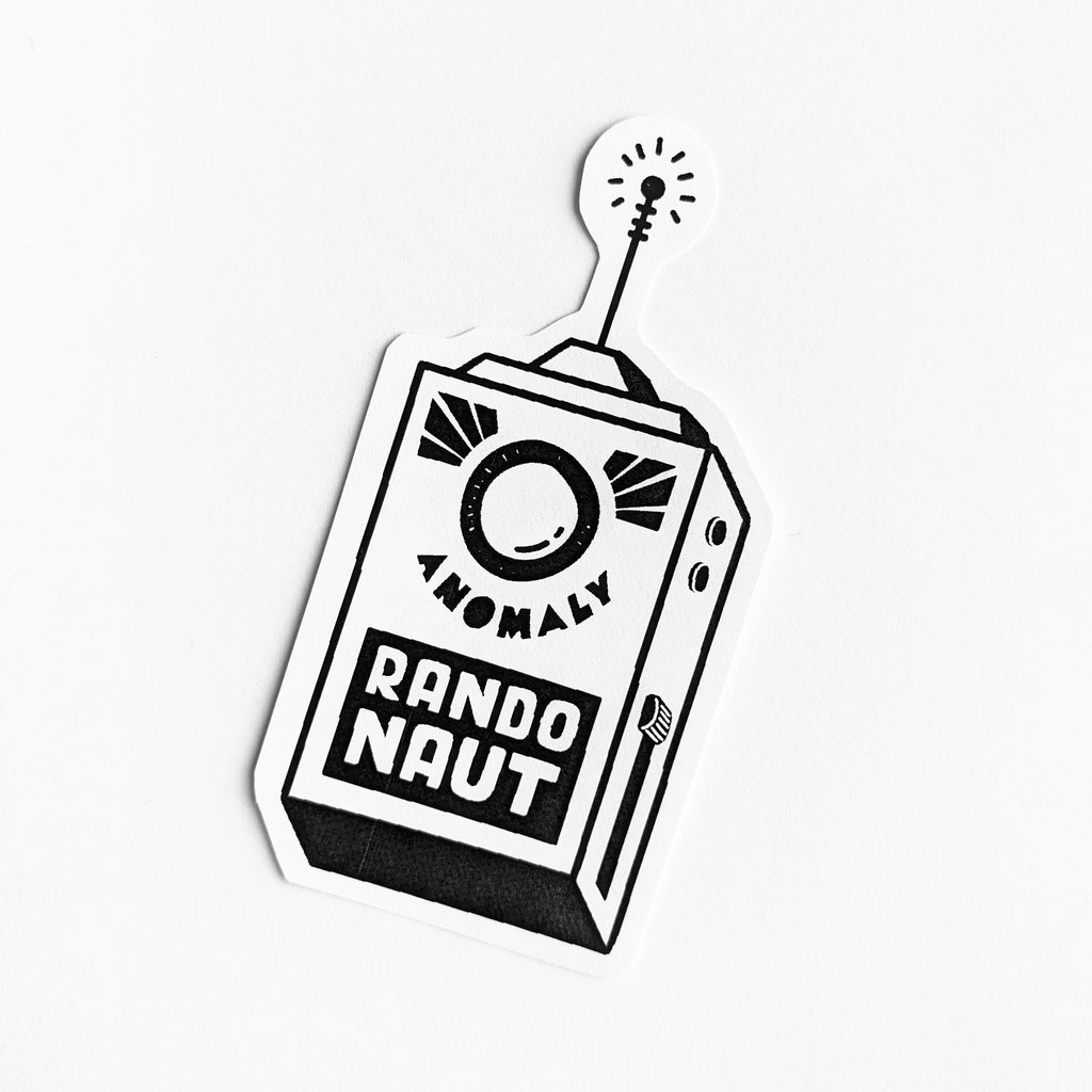 Low-Fi Randonaut Stickers