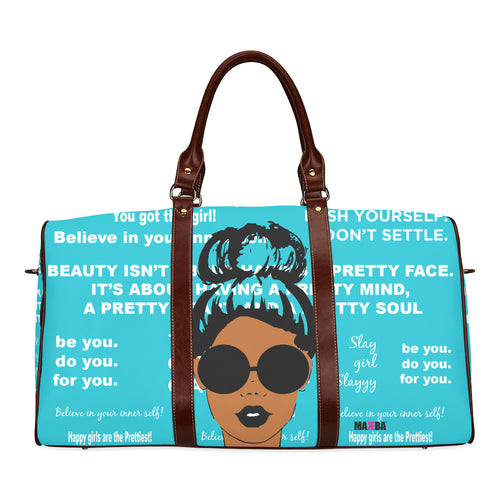 Classic Teal Affirmations Large