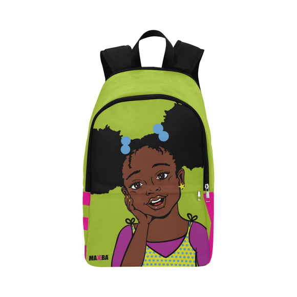 Summer (Dark & Lovely) Green Backpack