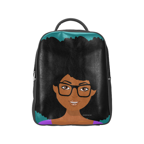 Camille Leather Backpack