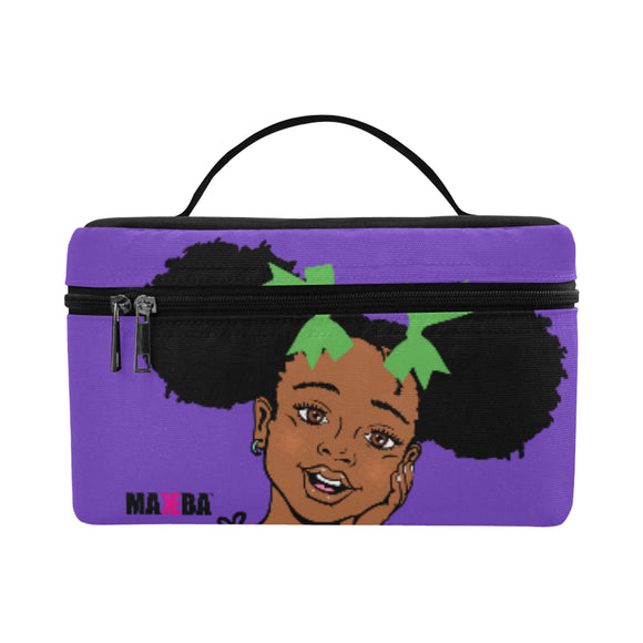 Summer Purple Lunch Bag
