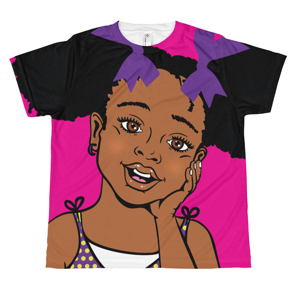 Summer Full Girl's Print T-Shirt