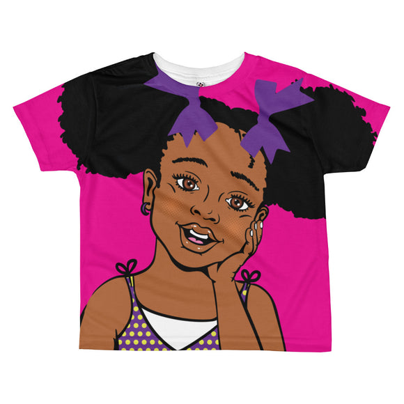 Summer Full Girls Print T-shirt (toddler)