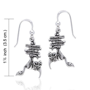 Bookworm Earrings by Amy Brown/Peter Stone