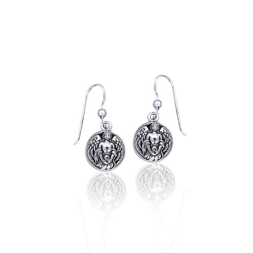 Angel Hollow Ball Earrings by Peter Stone