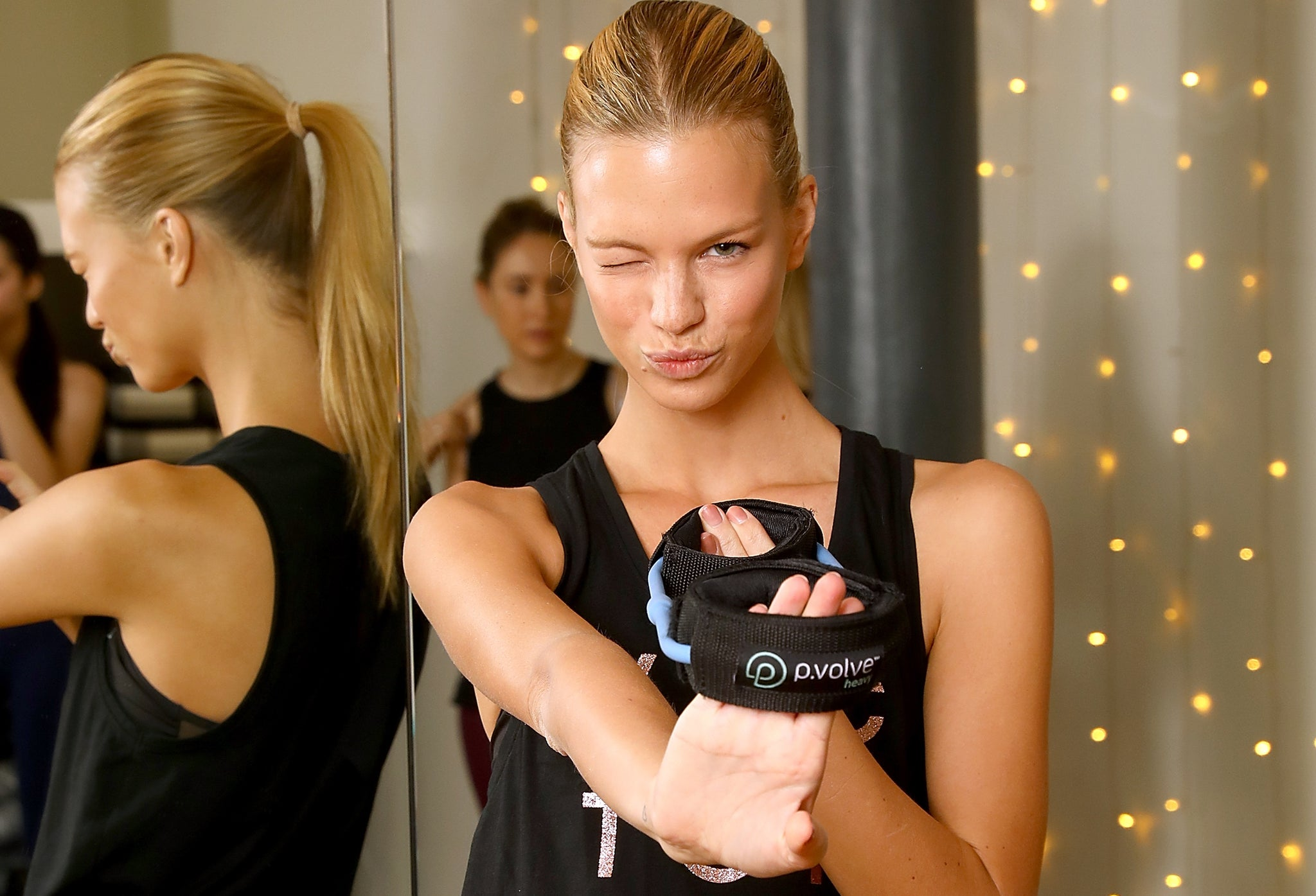 How VS Angel Nadine Leopold Keeps Healthy Year-Round