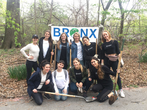 P.volve Plants Trees with the Bronx River Alliance for Earth Day | P.volve