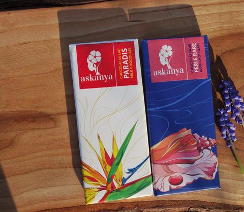 Askanya chocolate haiti woman owned