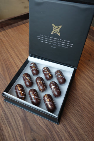 fruition bourbon caramels chocolate