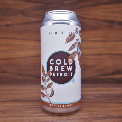 Brew Detroit - Cold Brew Coffee Stout