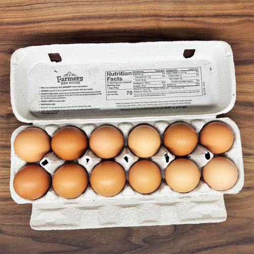 Large Brown Eggs - Cage Free - Pickup or Local Delivery Only