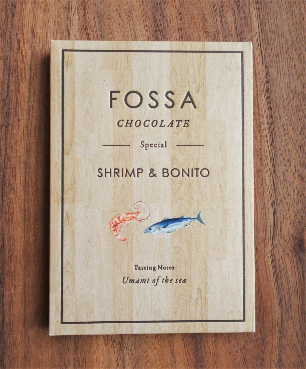 Fossa Shrimp and Bonito