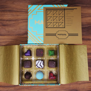 Mayana Chocolate 9 Piece Box