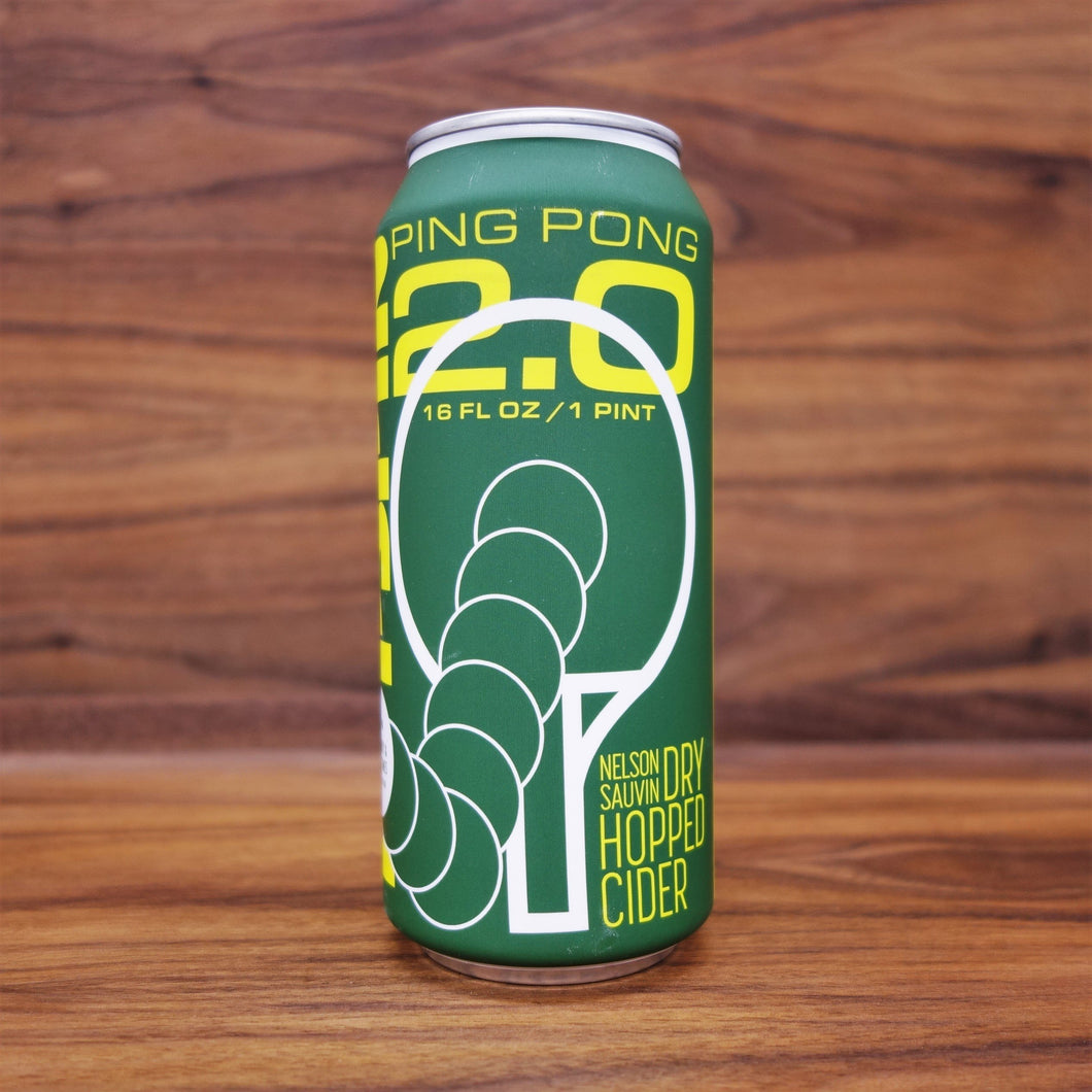 Top Spin Ping Pong 2.0 Cider