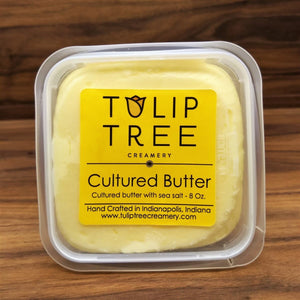 Tulip Tree Creamery Cultured Butter - Salted
