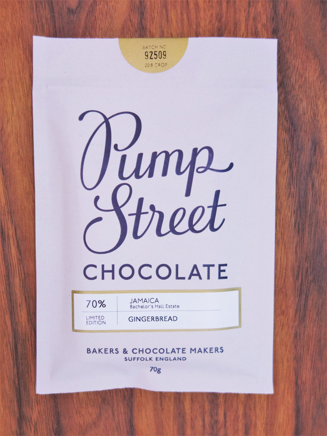 Pump Street Gingerbread 70%