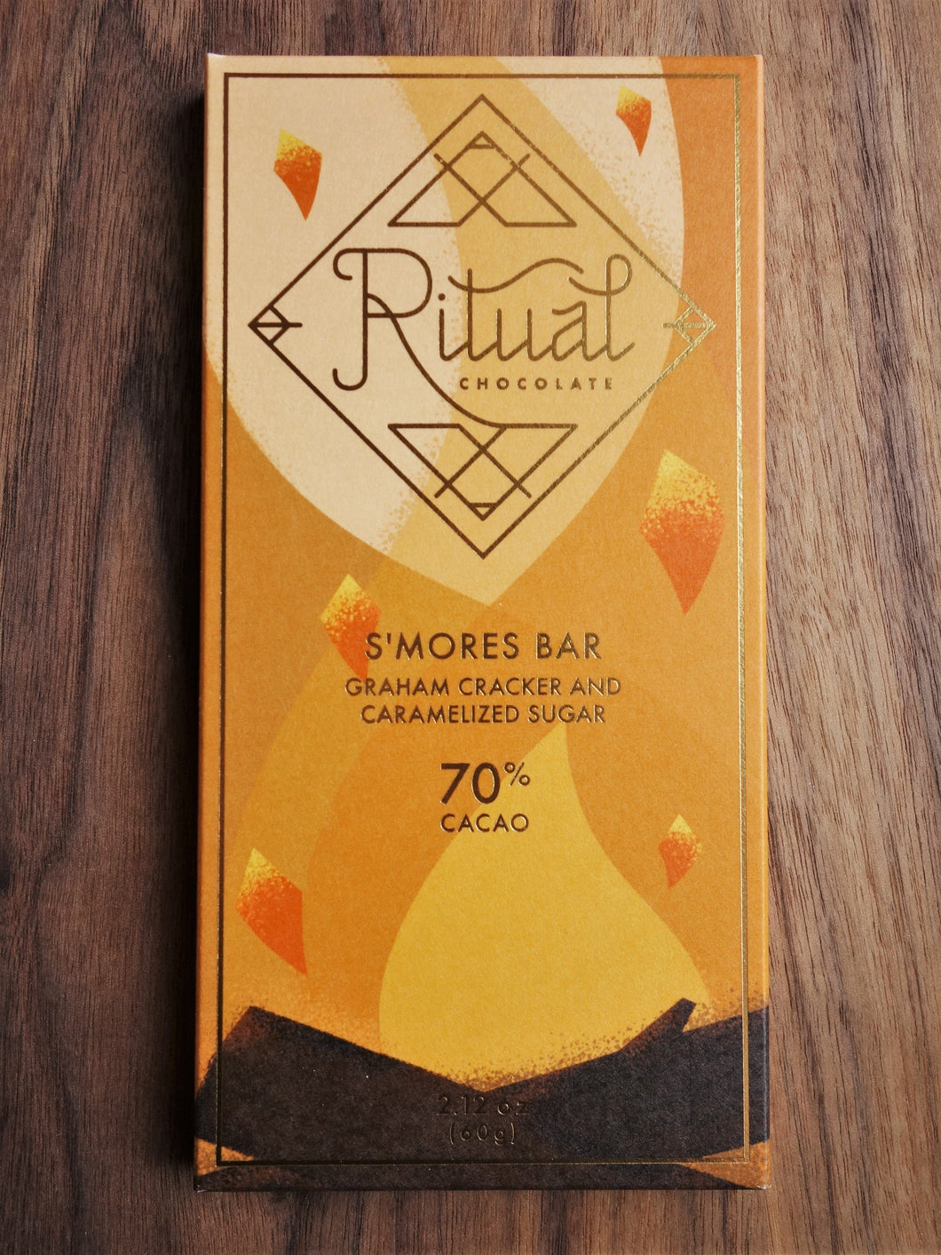 Ritual Chocolate S'mores bar 70%
